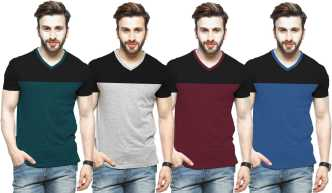 5fb78c15260 v-neck t-shirts for men s online at flipkart.com