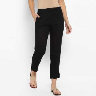 878053568b Womens Trousers - Buy Trousers for Women Online at Best Prices In ...