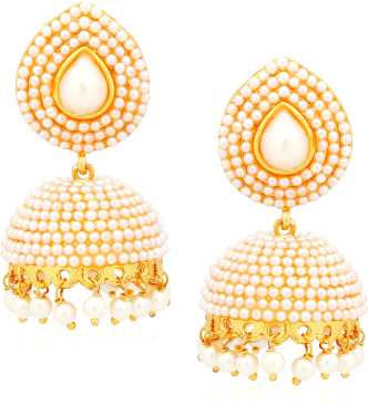 Gold Jhumka - Gold Jhumka Designs online at Best Prices in India