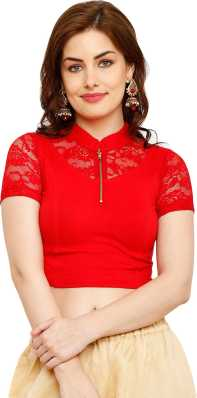 5f3c7988ff8 Red Blouses - Red Blouses Designs Online at Best Prices In India ...