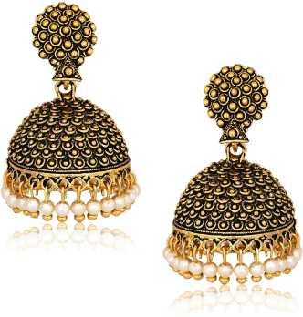 7f6dfcfc183c0 Jhumka Earrings - Buy Jhumki online | Jhumka Designs - Flipkart.com