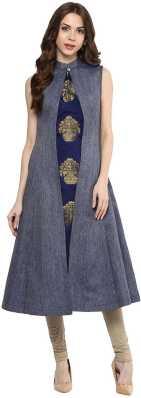 e1d7ee4f5 Blue Kurtis - Buy Blue Kurtas Kurtis Online at Best Prices In India ...
