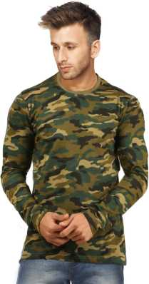 afbc8b801 Indian Army T Shirts - Buy Military / Camouflage T Shirts online at ...