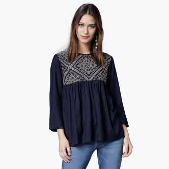 d7c6fd8faa30 Fashion Tops - Buy Fashion Tops online at Best Prices in India ...