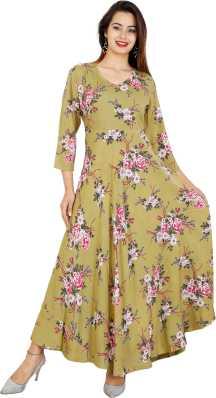 c61096848377 Gown Kurtas Kurtis - Buy Gown Kurtas Kurtis Online at Best Prices In ...