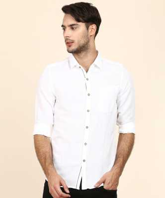 1d3e630e972 Linen Shirts - Buy Linen Shirts online at Best Prices in India ...