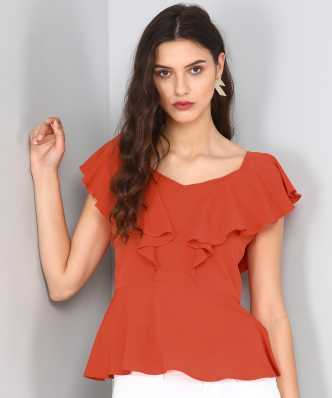 885c0a7214b7bb Peplum Tops - Buy Peplum Tops online at Best Prices in India ...