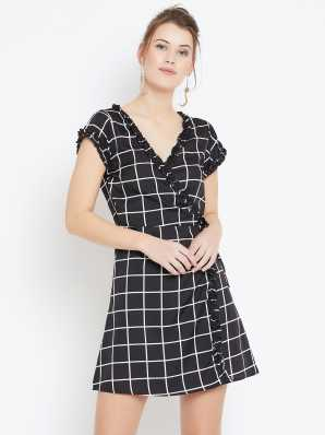 d5bc24e3e762 Wrap Dresses - Buy Wrap Dresses Online at Best Prices In India ...
