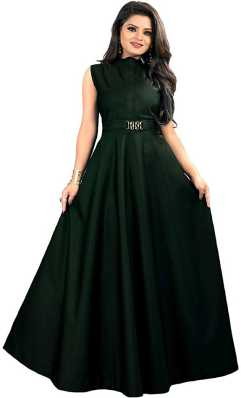 415cc921dfb Green Gowns - Buy Green Gowns Online at Best Prices In India ...