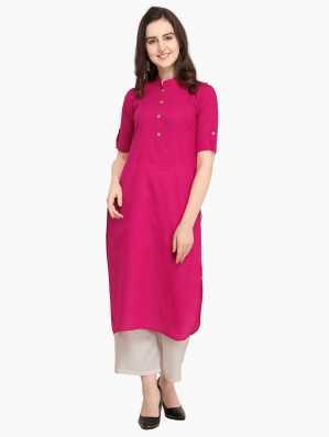 2a82926071 Pink Kurtis - Buy Pink Kurtis Online at Best Prices In India ...