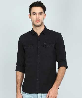 642b4b4c7ac Denim Shirts - Buy Denim Shirts Online at Best Prices In India ...