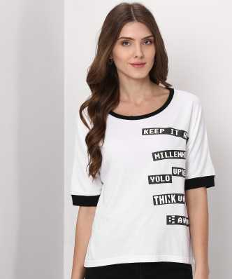 9a10e576711e32 White Tops - Buy White Tops For Women Online at Best Prices In India ...