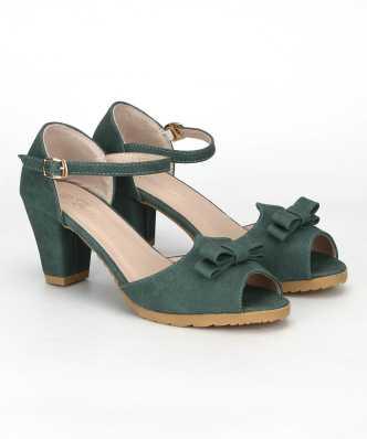 64213843f022 Block Heels - Buy Block Heels Sandals Online At Best Prices in India ...