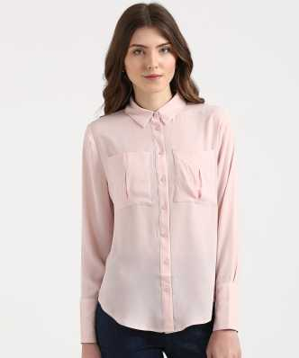 06953b6d Women's Shirts Online at Best Prices In India|Buy ladies' shirts from best  brands | Flipkart.com