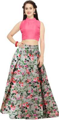 9cbc5e4a4a Crop Top with Lehenga - Buy Crop Top Lehengas online at best prices ...