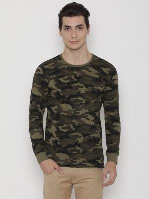camouflage t shirt myntra
