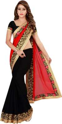 dfacf8bbf5e6d Red Sarees - Buy Red Sarees Online at Best Prices In India ...