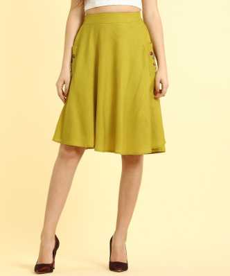 fa8bc6d92c730 Skirts - Buy Long & Mini Skirts for Women Online at Best Prices In ...