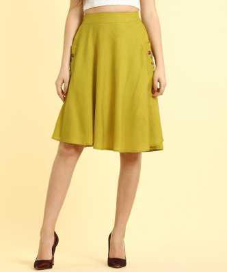 6b9922c38b Knee Length Skirts - Buy Knee Length Skirts Online at Best Prices In India  | Flipkart.com