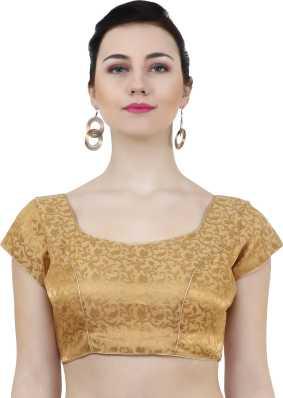 45c24d168ea3b Golden Blouse - Buy Golden Blouse Designs online at best prices ...