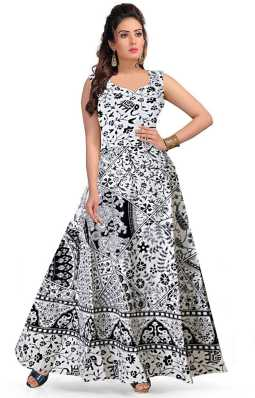 31d2776ab4a0 Silk Cotton Gowns - Buy Silk Cotton Gowns Online at Best Prices In India