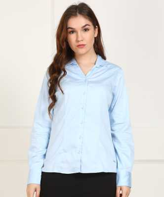 b1407d011d55f3 Women's Shirts Online at Best Prices In India|Buy ladies' shirts ...