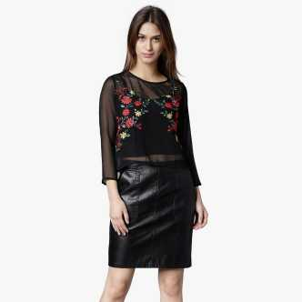 02727c0a10058 Long Tops - Buy Long Tops Online For Women at Best Prices In India ...