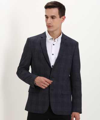 235a8b38bb95 Checkered Mandarin Casual Men Full Sleeve Blazer. ₹5,299. Arrow New York
