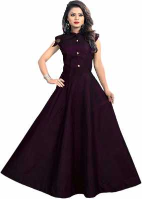 9e3969d1c8 Silk Gowns - Buy Silk Gowns Online at Best Prices In India ...