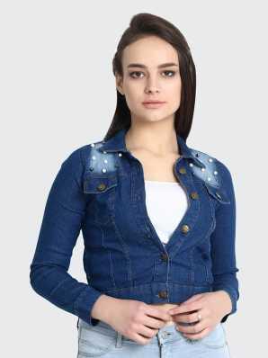 6833d05031cd Denim Jackets - Buy Jean Jackets for Women & Men online at best ...