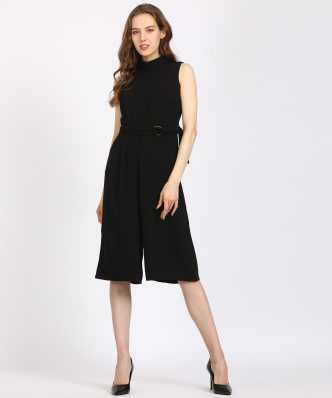 7e228b5c389 Black Jumpsuits - Buy Black Jumpsuits Online at Best Prices In India ...