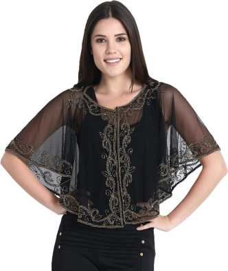 f60ded92b238 Ponchos - Buy Poncho Tops / Pochu Dress Online for Women at Best Prices in  India