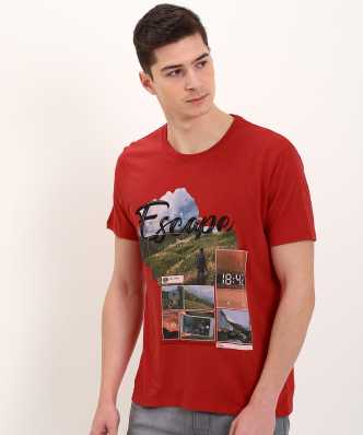 c2cb6fa0a62938 Wrangler T Shirts - Buy Wrangler T Shirts online at Best Prices in ...