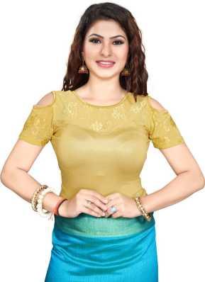 36ba565126965 Off Shoulder Blouses - Buy Off Shoulder Saree Blouses online at Best Prices  in India
