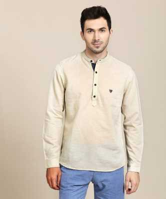c74b054c2 Linen Shirts - Buy Linen Shirts online at Best Prices in India ...