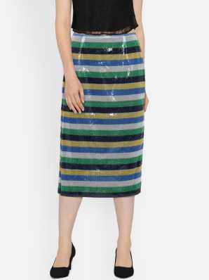 e0a48f19fe2e Midi Skirts - Buy Midi Skirts Online at Best Prices In India ...