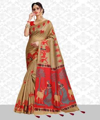 4542251f7bf Red Sarees - Buy Red Sarees Online at Best Prices In India ...