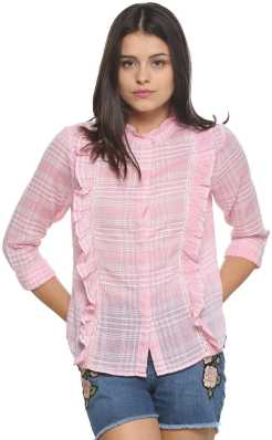 b0d68638a Women's Shirts Online at Best Prices In India|Buy ladies' shirts ...