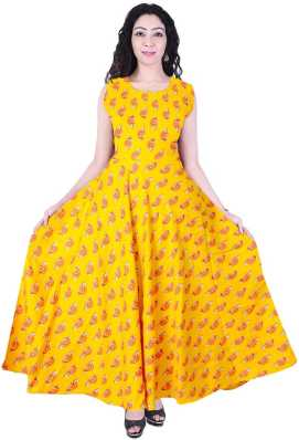 73cbf53e5 Yellow Gowns - Buy Yellow Gowns Online at Best Prices In India ...