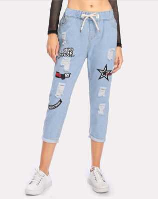 66e3ae22f41 Ripped Jeans For Womens - Buy Ripped Jeans For Womens online at Best ...