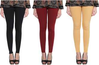 bedd5564dd1f1a Gold Leggings - Buy Gold Leggings Online at Best Prices In India ...