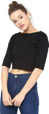 306beb92fe0b Crop Tops - Buy Crop Tops Online at Best Prices In India