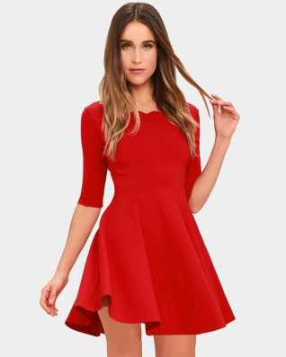 627df67ab9 Skater Dress - Buy Skater Dresses Online at Best Prices In India ...