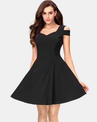 Skater Dress - Buy Skater Dresses Online at Best Prices In India ... 4402cae1c