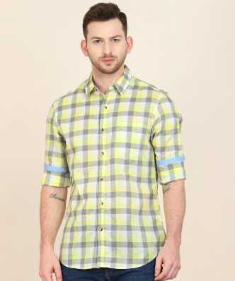 5b9b65c88dd0c Checkered Shirts - Buy Checkered Shirts Online at Best Prices In India