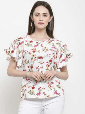 9e6a2233104 Floral Tops - Buy Floral Tops Online For Women at Best Prices In ...