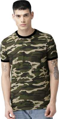 6f630bc67 Indian Army T Shirts - Buy Military / Camouflage T Shirts online at ...