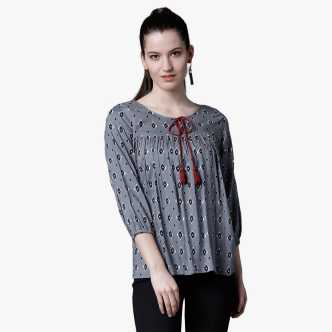 4a65954e1ec Tops - Buy Women s Tops Online at Best Prices In India