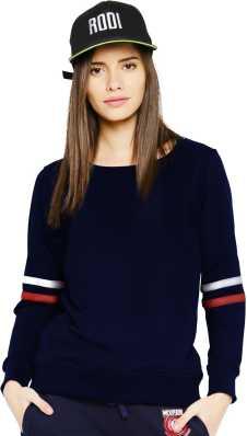 2f8f4c50119 Sweatshirts - Buy Sweatshirts   Hoodies for Women Online at Best ...