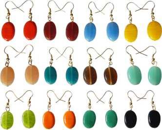 5e74b65e0bd35 Dangle Earrings - Buy Dangle Earrings online at Best Prices in India ...